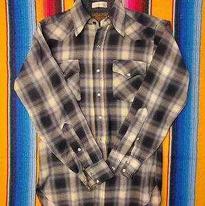 Vintage Pendelton virgin wool shirt